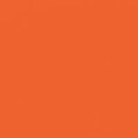 Exuberant Orange paint color DEA112 #F0622F