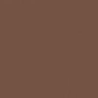 Rich Mocha paint color DEA159 #745342