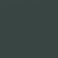 Refined Green paint color DEA181 #384543