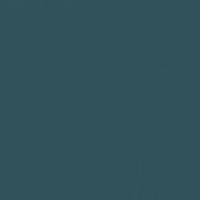 Encore Teal paint color DEA182 #30525B