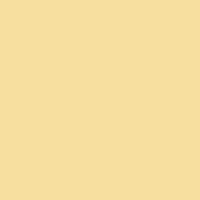 Aspen Yellow paint color DEC732 #F6DF9F