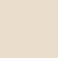 Bone White paint color DEC741 #EBDECC