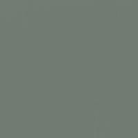 Boxwood paint color DEC778 #707B71