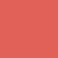 Fiery Coral paint color DET426 #E26058
