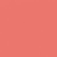 Pueblo Rose paint color DET438 #E9786E