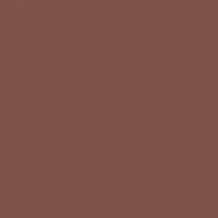 Red Rooster paint color DET459 #7E5146