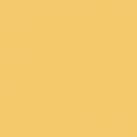Cornsilk Yellow paint color DET498 #F4C96C