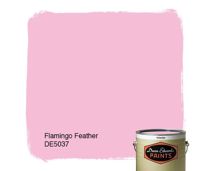 Flamingo Feather paint color DE5037