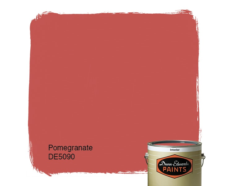 Pomegranate paint color DE5090