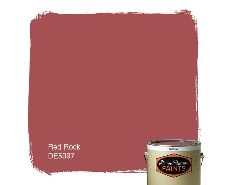 Red Rock paint color DE5097