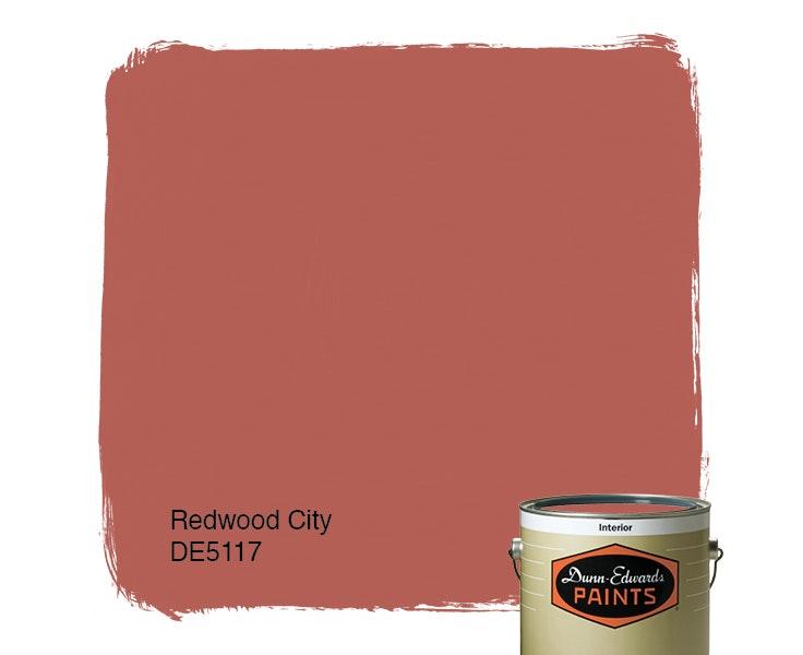 Redwood City paint color DE5117