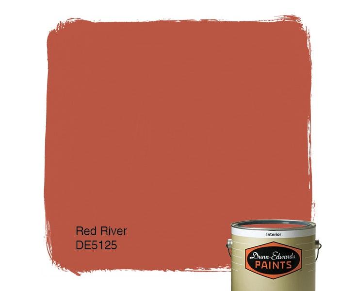 Red River paint color DE5125