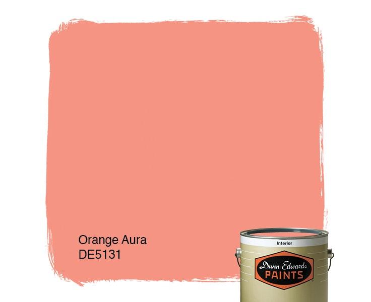 Orange Aura paint color DE5131