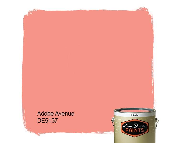 Adobe Avenue paint color DE5137