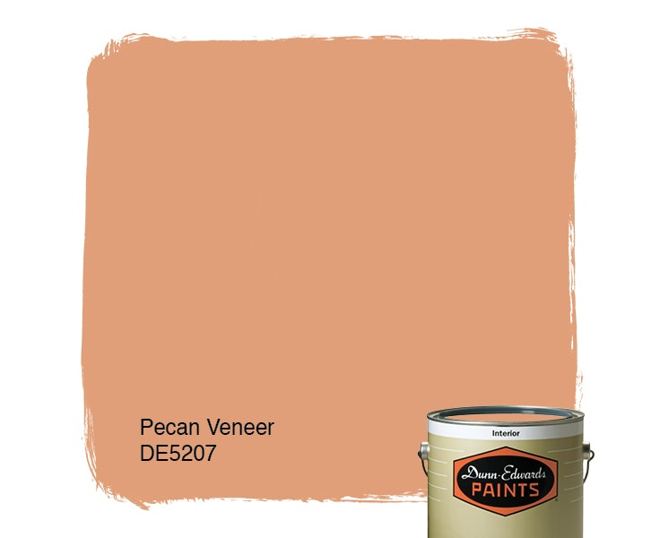 Pecan Veneer paint color DE5207