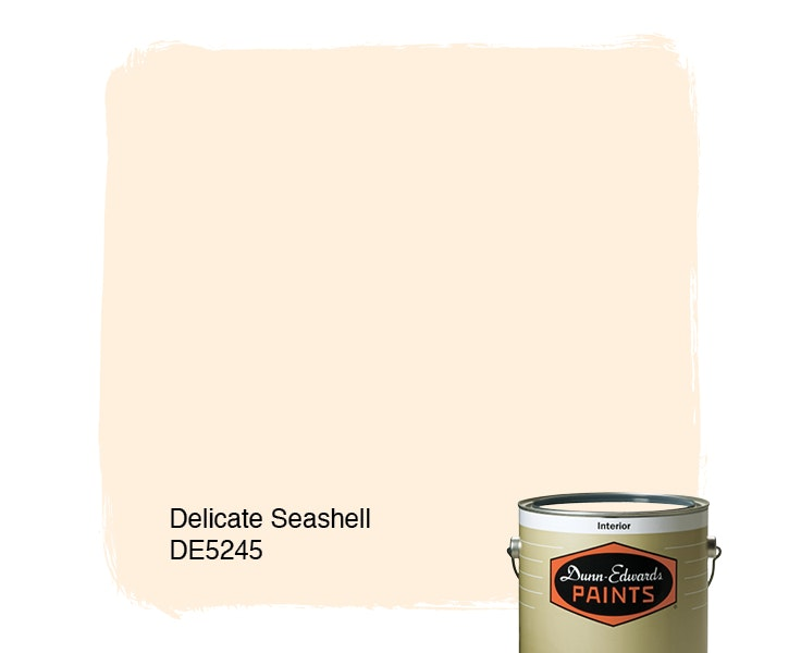 Delicate Seashell paint color DE5245