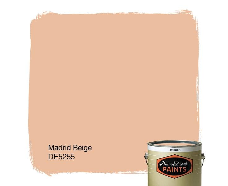 Madrid Beige paint color DE5255