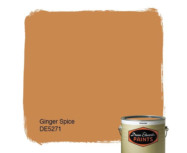 Ginger Spice paint color DE5271