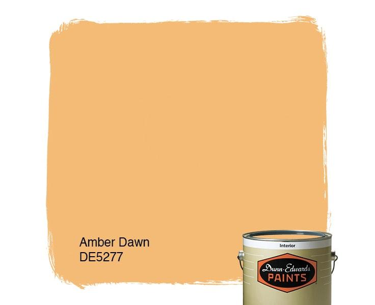 Amber Dawn paint color DE5277