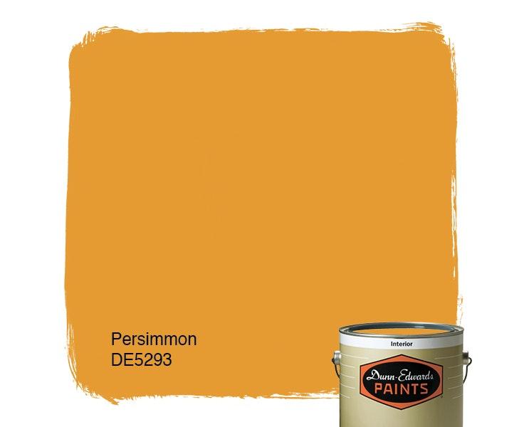 Persimmon paint color DE5293