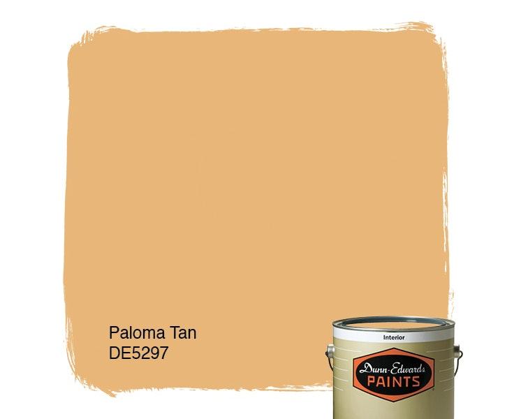 Paloma Tan paint color DE5297