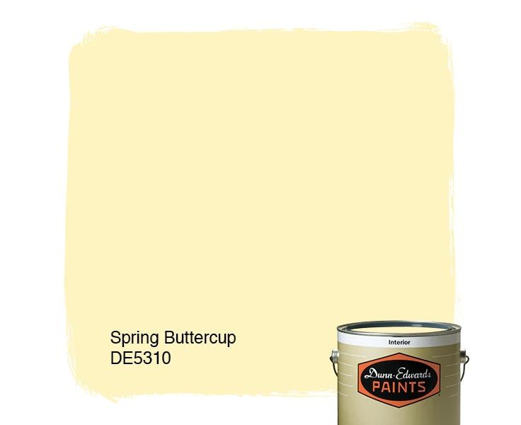 Spring Buttercup paint color DE5310