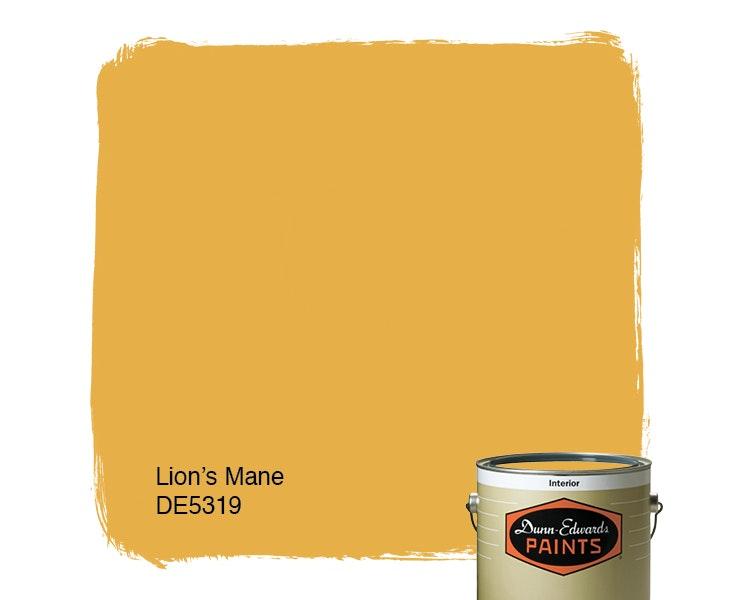 Lion's Mane paint color DE5319