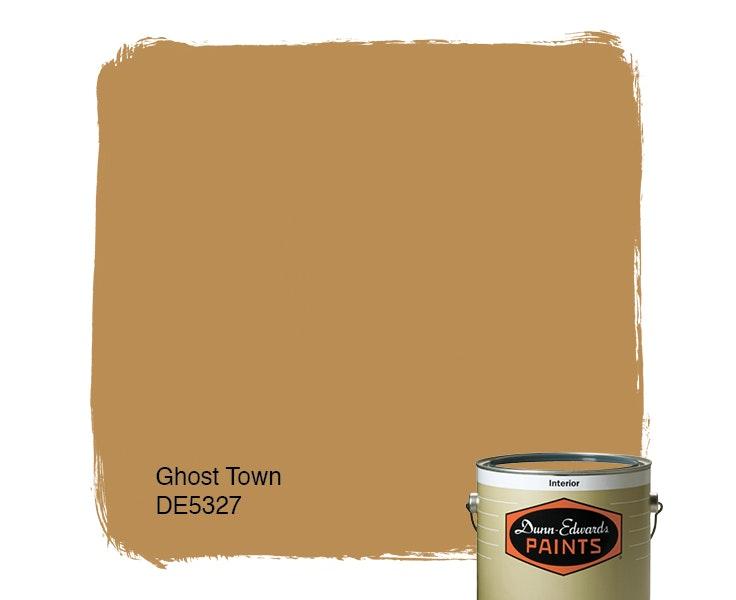 Ghost Town paint color DE5327