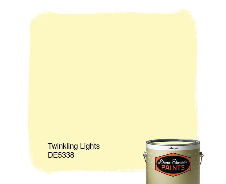 Twinkling Lights paint color DE5338
