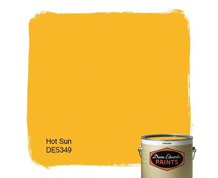 Hot Sun paint color DE5349