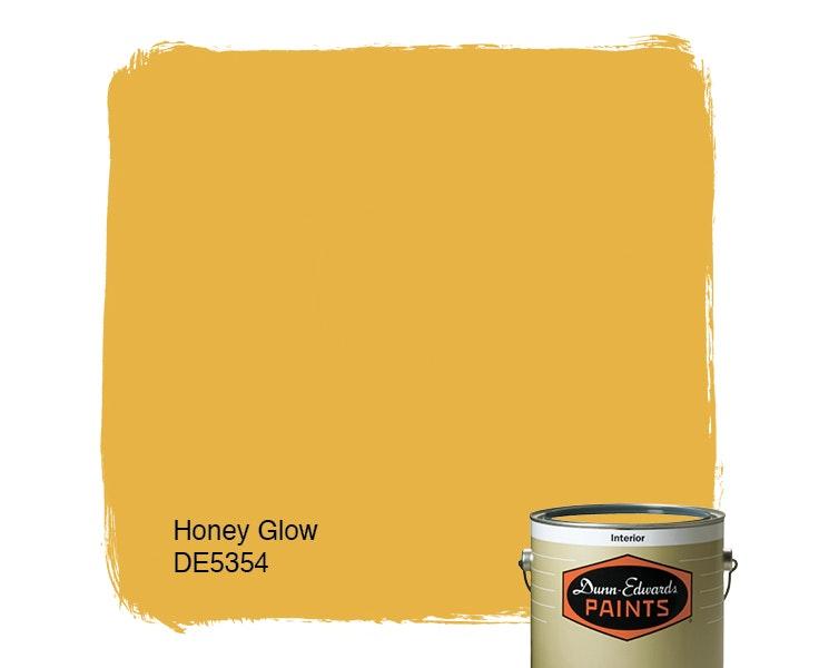 Honey Glow paint color DE5354