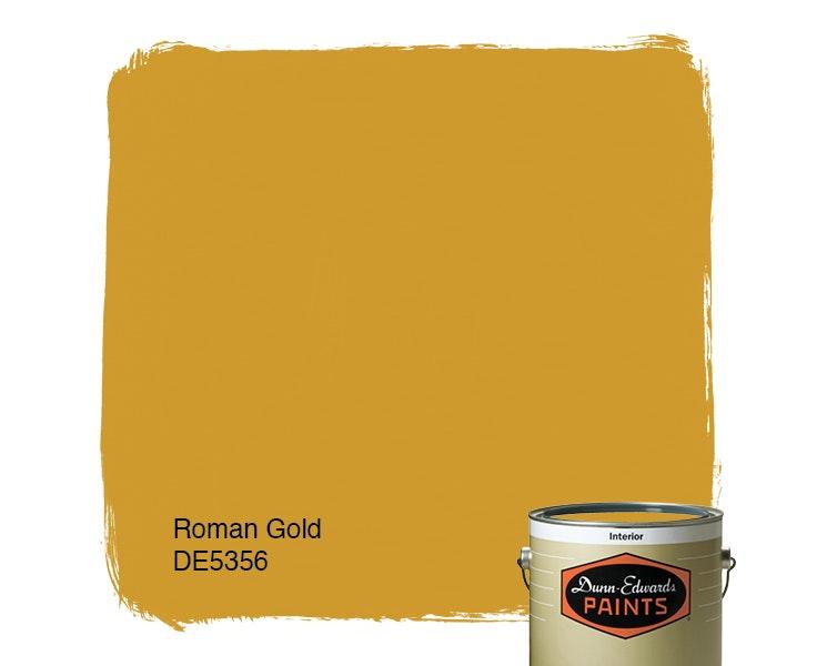 Roman Gold paint color DE5356