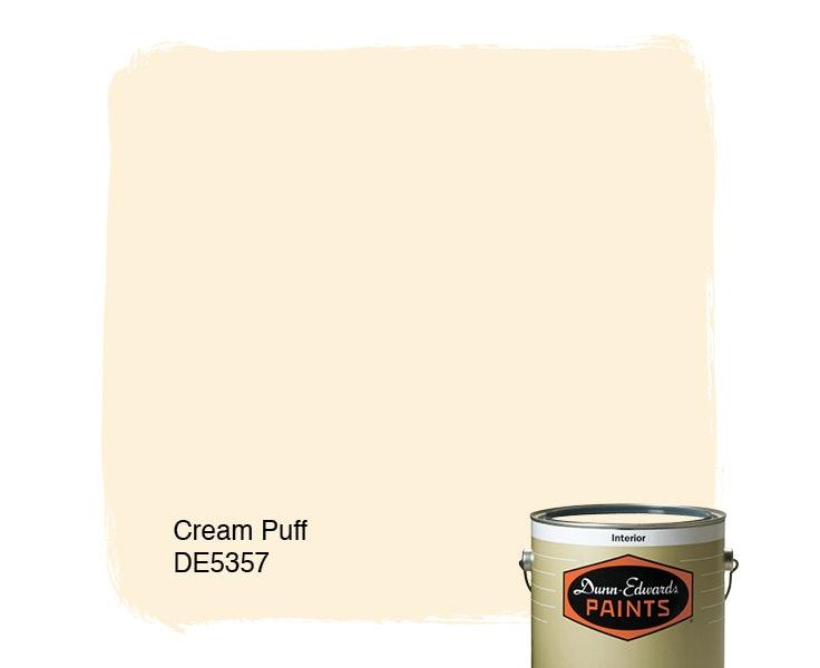 Cream Puff paint color DE5357
