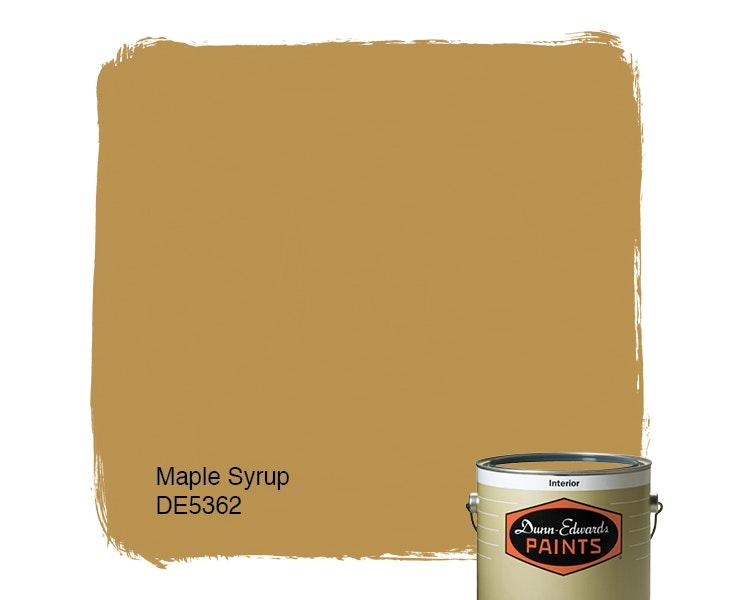 Maple Syrup paint color DE5362