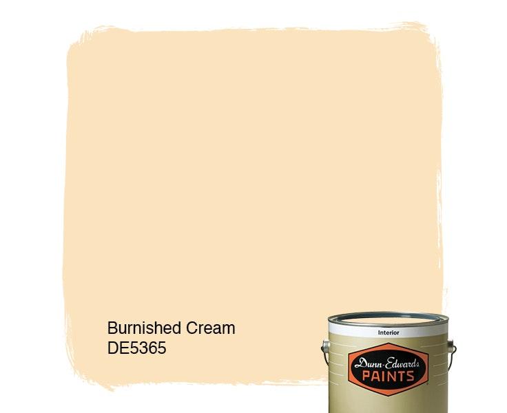 Burnished Cream paint color DE5365