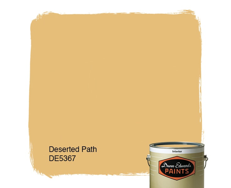 Deserted Path paint color DE5367