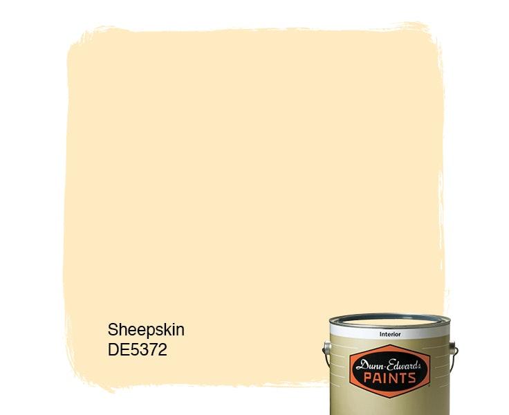 Sheepskin paint color DE5372