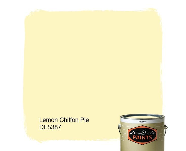 Lemon Chiffon Pie paint color DE5387