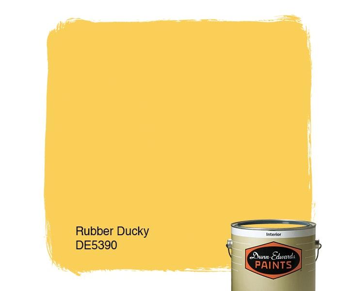 Rubber Ducky paint color DE5390