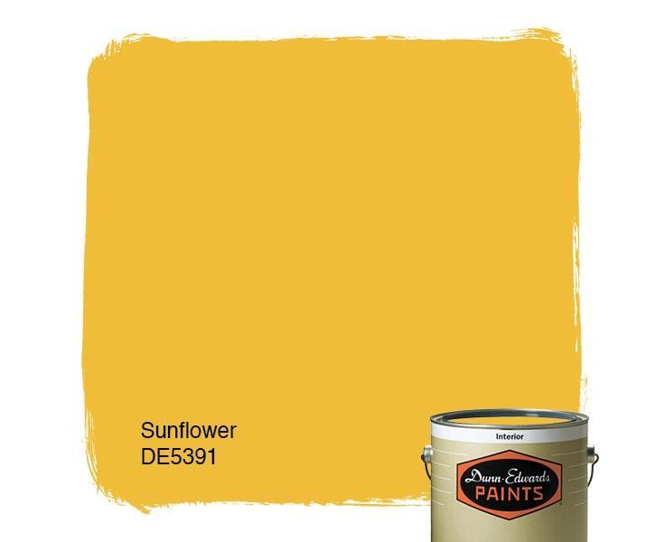 Sunflower paint color DE5391