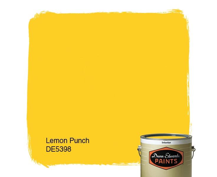 Lemon Punch paint color DE5398