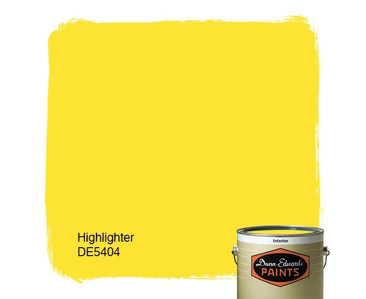 Highlighter paint color DE5404