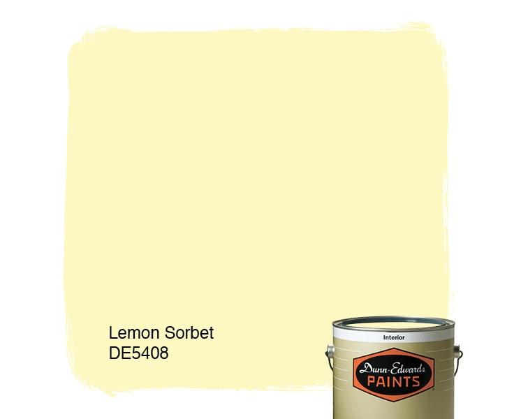 Lemon Sorbet paint color DE5408