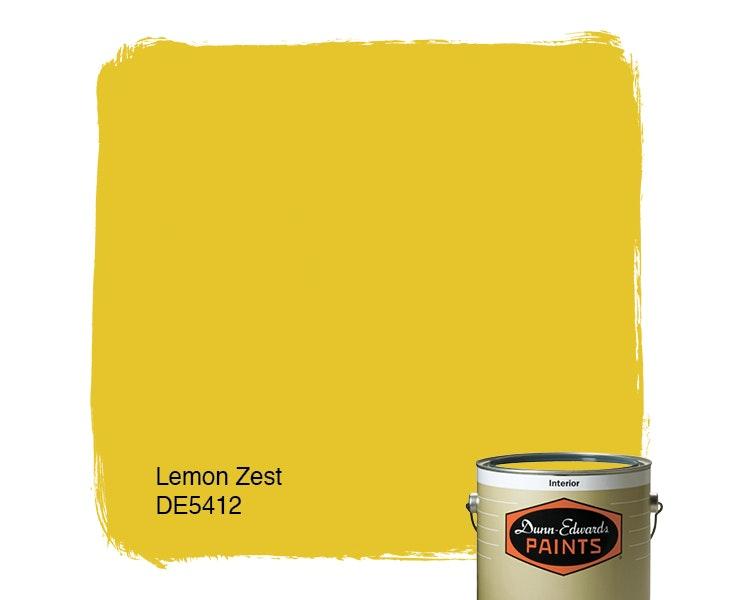Lemon Zest paint color DE5412