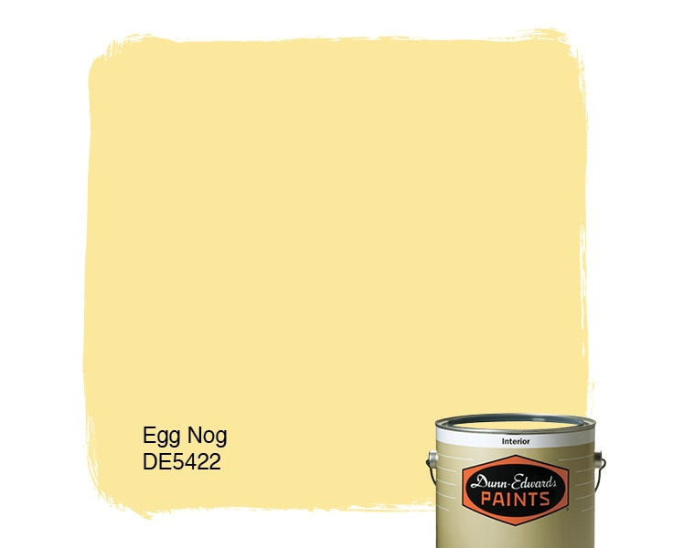 Egg Nog paint color DE5422