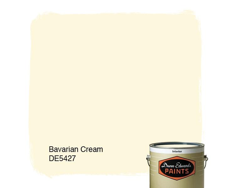 Bavarian Cream paint color DE5427