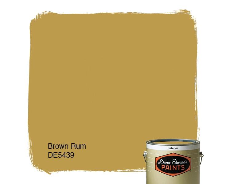 Brown Rum paint color DE5439