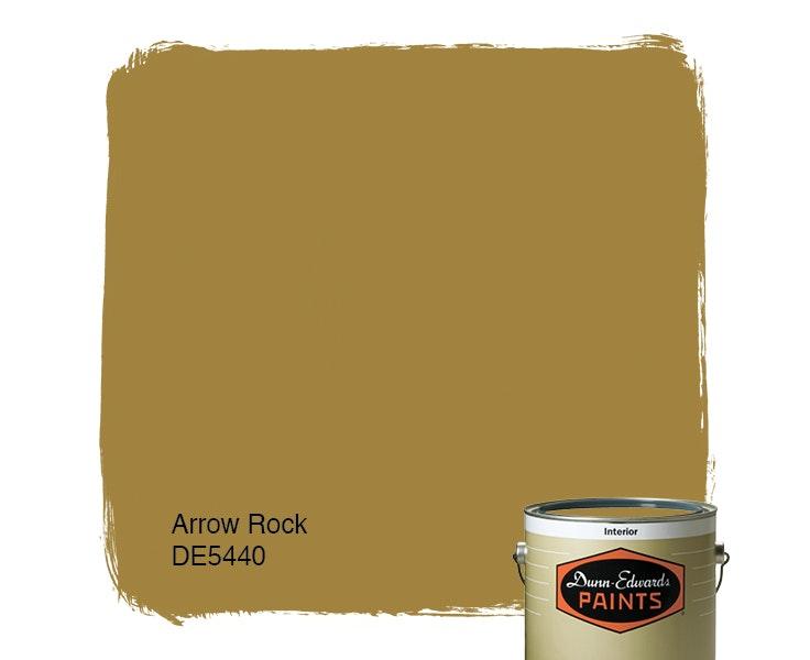 Arrow Rock paint color DE5440