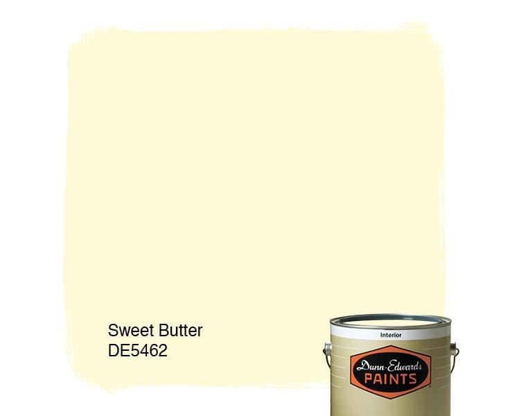 Sweet Butter paint color DE5462