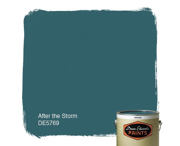 After the Storm paint color DE5769
